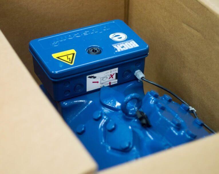 упаковка холодильного компрессора Bock