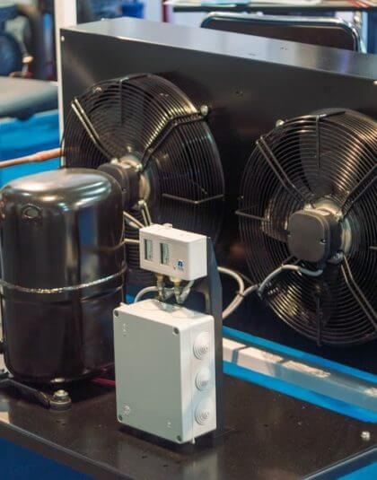 Компрессорно-конденсаторные блоки БУ от Промтехгруп