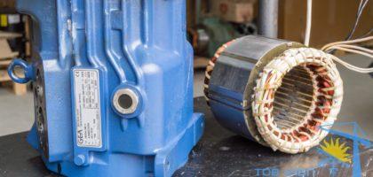 Ремонт электродвигателей компрессоров Bock Киев