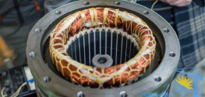 Ремонт электродвигателя статора Bitzer