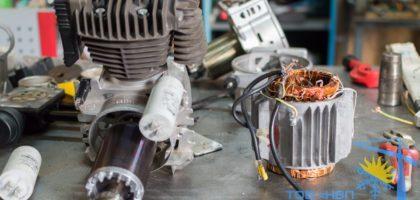 Ремонт перемотка статора воздушного компресссора Киев