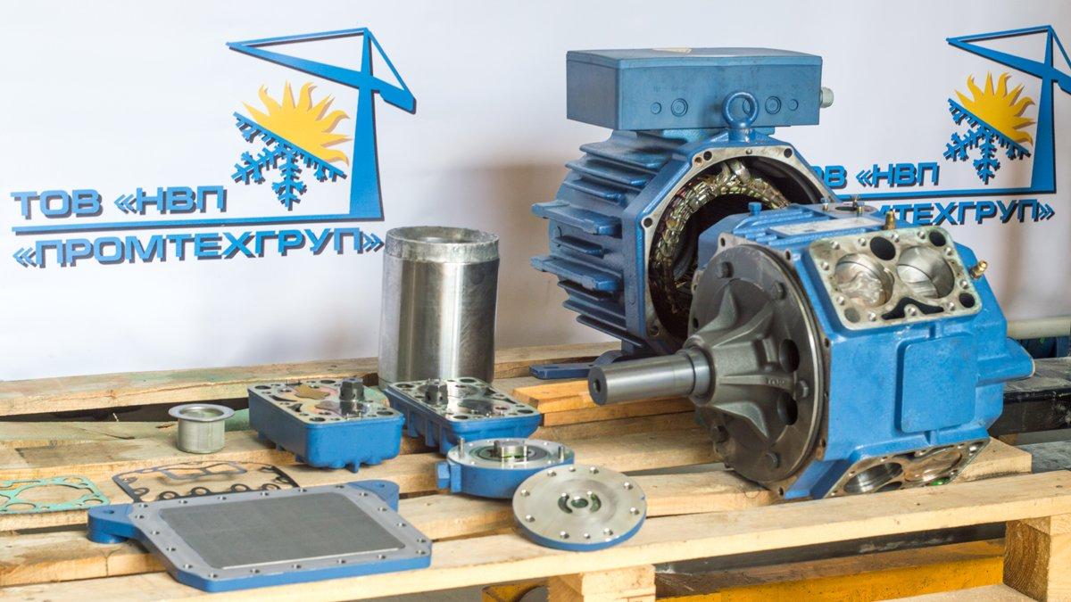 Ремонт промышленных полугерметичных холодильных компрессоров Киев