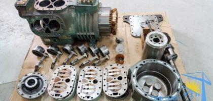 ремонт поршневого холодильного компрессора BITZER 6F-40.2 Киев