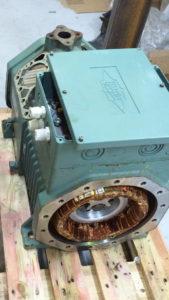разобраный компрессор Bitzer