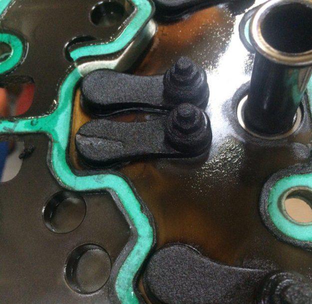 дефектовка клапанной плиты Bitzer