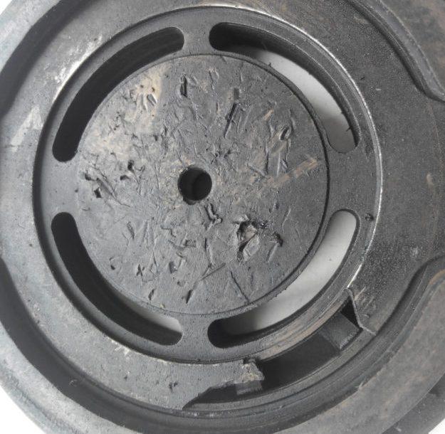 поврежденный клапан Bristol