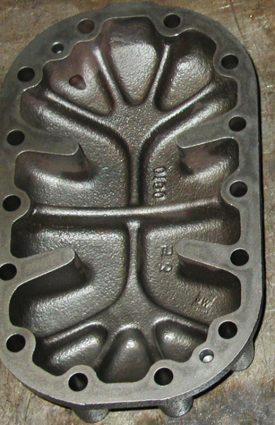 крышка компрессора Bitzer после обработки