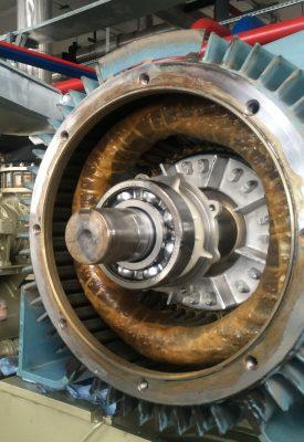 обмотка двигателя промышленного Mycom