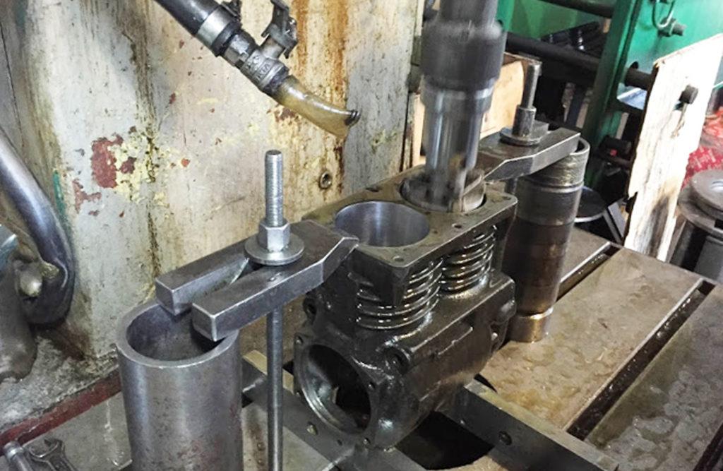 расточка гильз поршневого компрессора