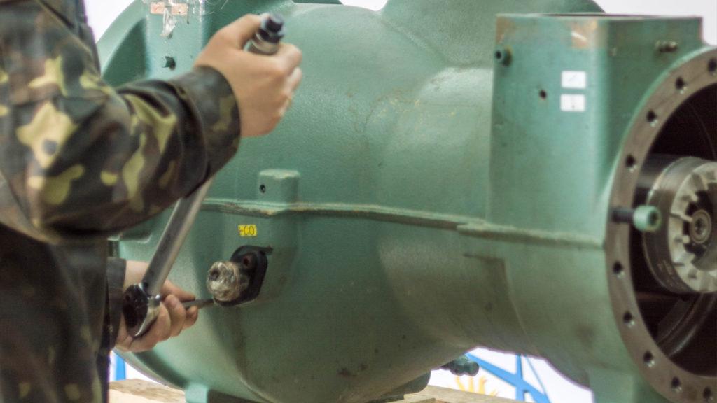 ремонт винтового компрессора Bitzer