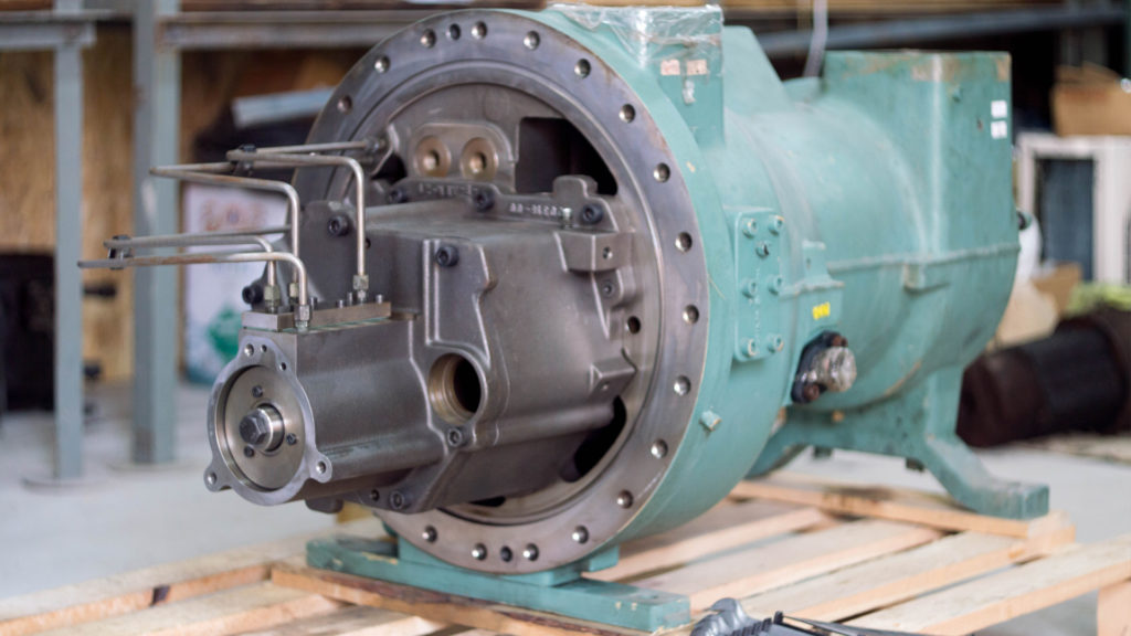 сборка винтового компрессора Bitzer