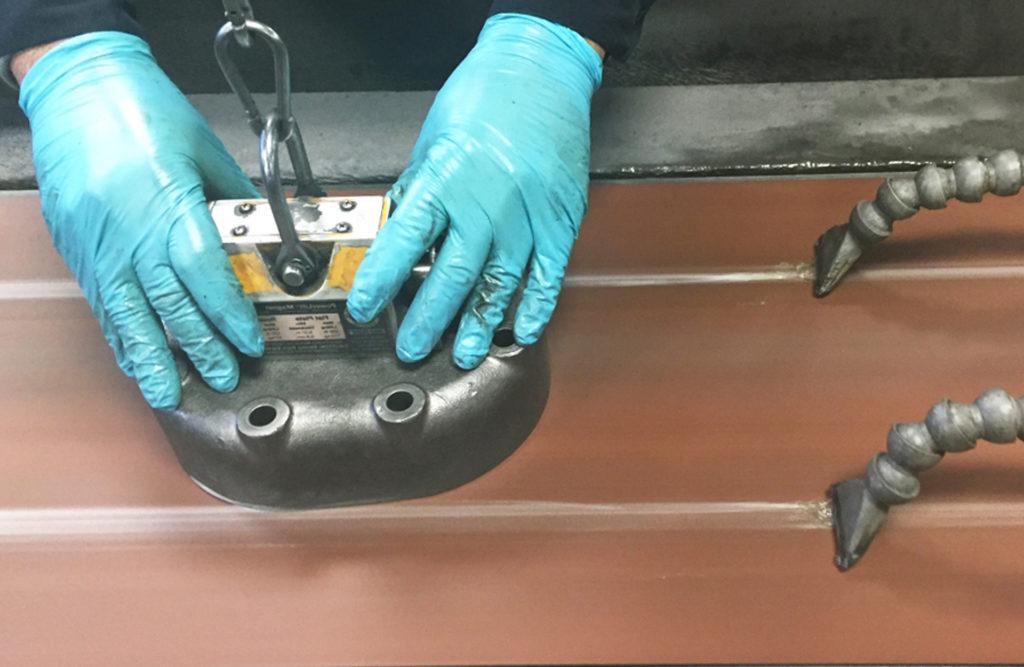 шлифовка крышки компрессора