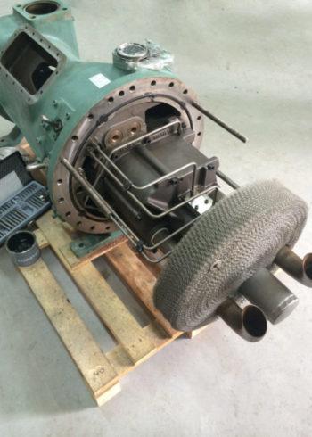 разбор винтового компрессора Bitzer