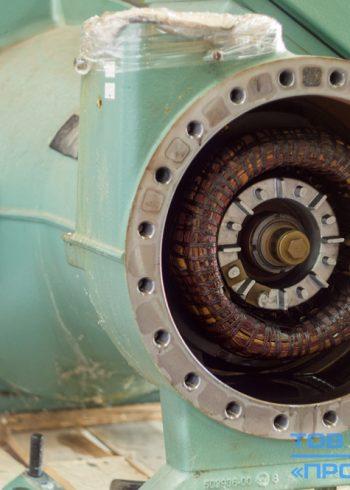 Ремонт электродвигателя винтового компрессора Bitzer CSH8571