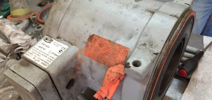 Разборка и ремонт насоса WITT HRP 8050 Киев