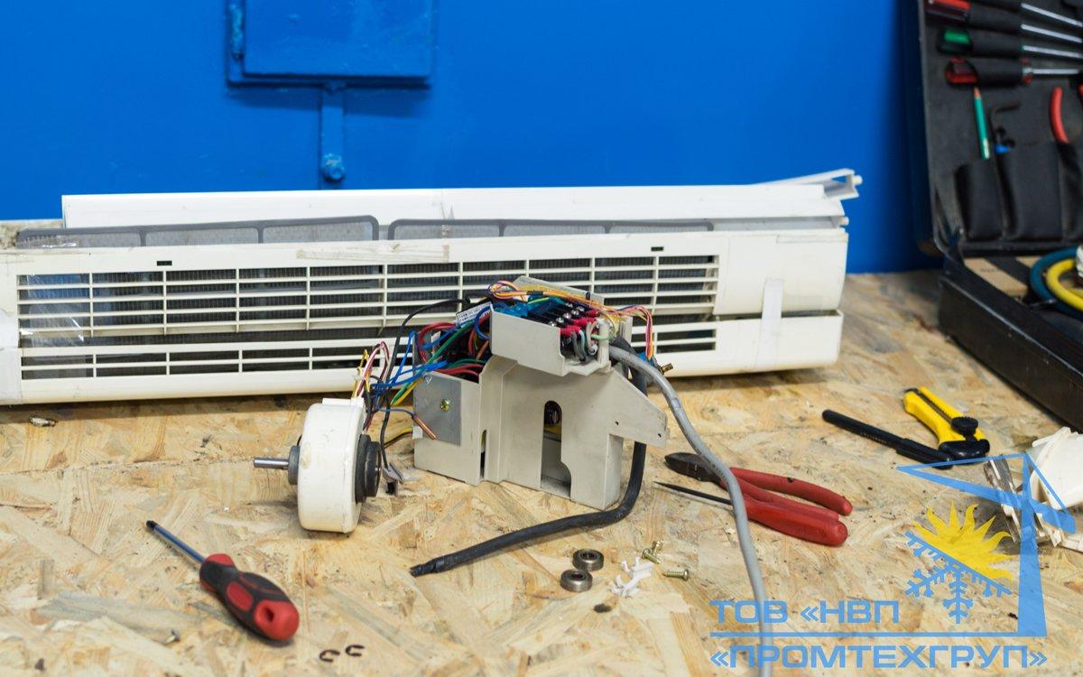 Ремонт воздушного кондиционеров и сплит-систем