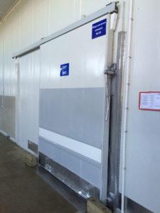 откатные двери для холодильный и морозильных камер бу