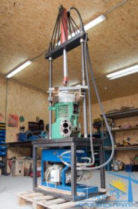 Выпрессовка-статора-компрессора-Bitzer-2