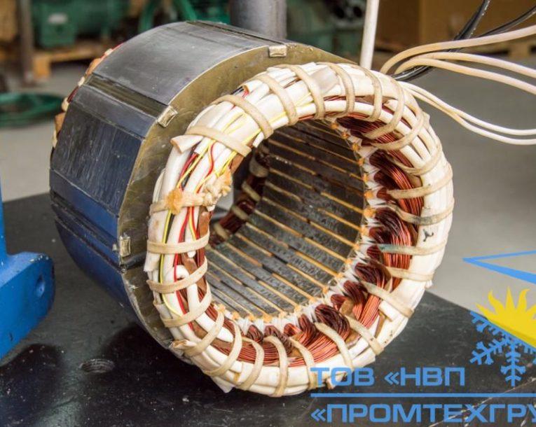 перемотанный статор компрессора Bock HGX34e/380-4 Киев