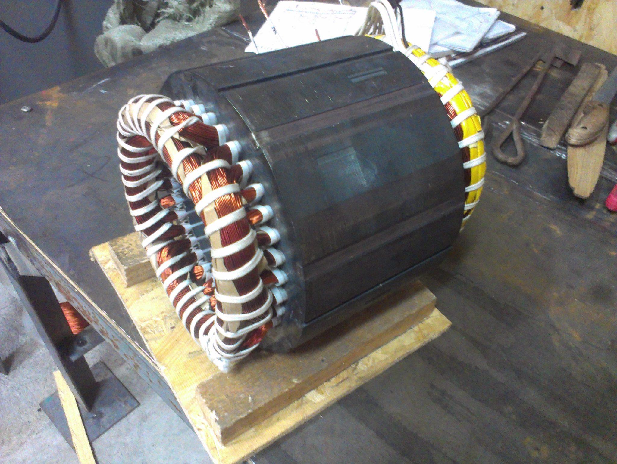 Электродвигатель перемотка своими руками