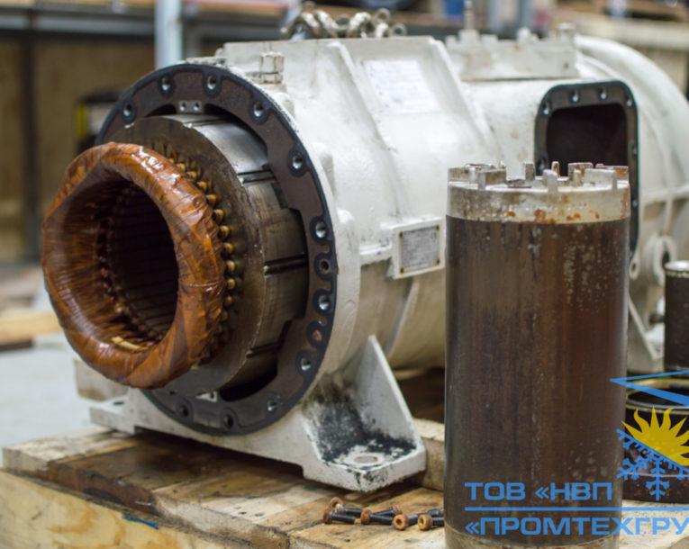 разборка диагностика винтового компрессора Daikin ZHC5WLG5YE в Киеве