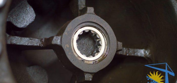 роликовый подшипник торцевой крышки Daikin ZHC5WLG5YE