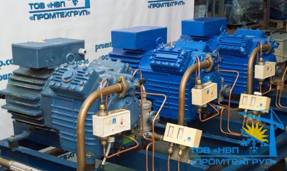 холодильная установка Bock 3x HGX4/650-4 S