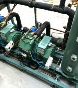 централь б/у 2x4DC-7.2Y с производительностью 53,68 м3/ч
