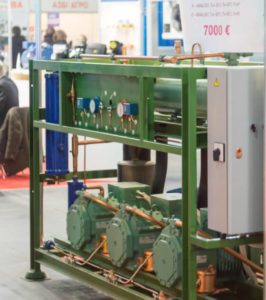 Холодильная централь Bitzer 3x4NCS-12.2Y Б/У (168,75 m3/h)