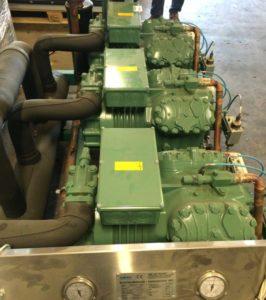 Холодильная установка Bitzer 3х 4JE-15Y БУ