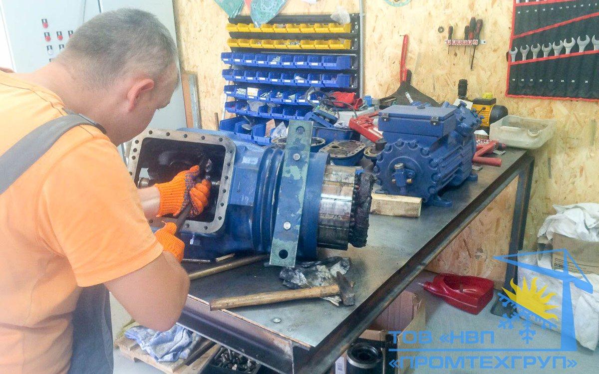 холодильного компрессора ремонт BITZER 6F-40.2Y Киев