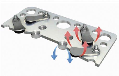 клапан пластина плита компрессора compressor bock