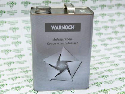 масло для холодильных компрессоров WARNOCK NOC 170 4L