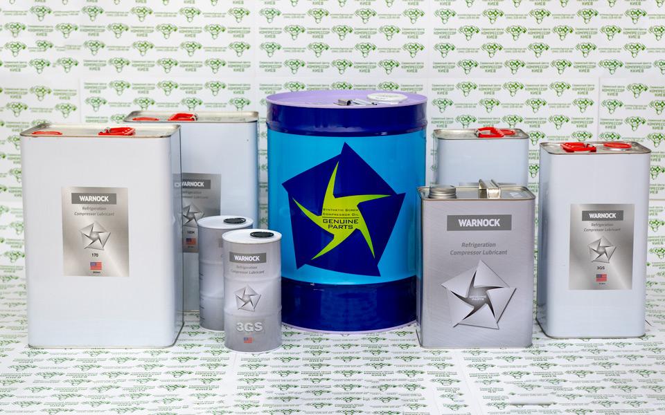 масло для холодильных компрессоров WARNOCK NOC