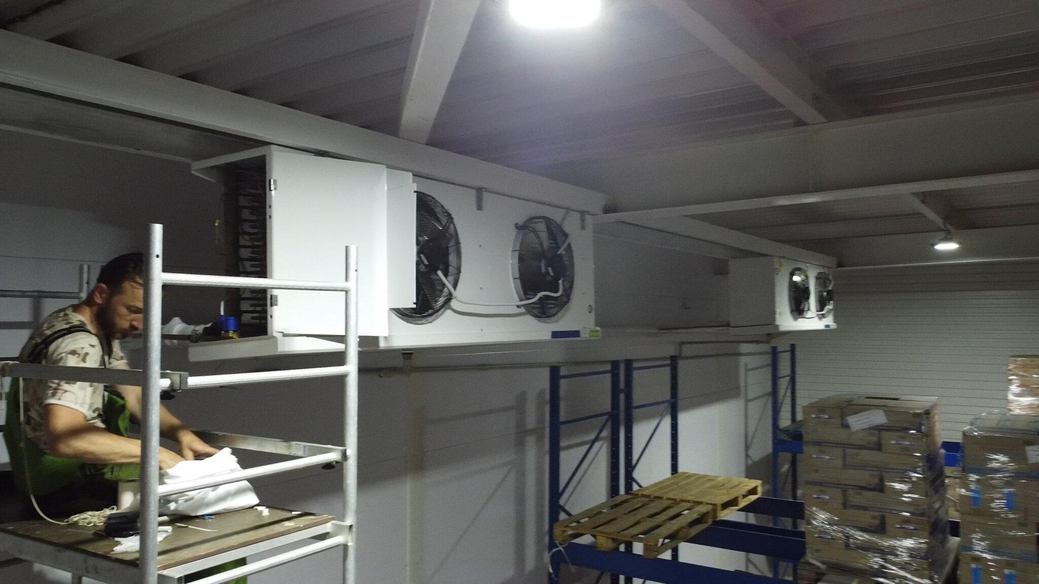 воздухоохладители LU-VE для холодильной камеры